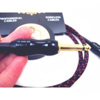 支持货到付款   VORSON 彩红 电吉他 连线 连接线 6.5接头 加粗设计 电吉他效果器专业连接线 电声吉他 电贝司降噪吉他线 音箱连接线 电箱琴连线  MOEN系列 两头6.5mm接头