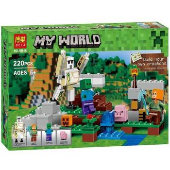 【乐拼塑料/硬质积木】乐拼10468我的世界