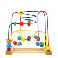 大号智力绕珠串珠1-2-3周岁儿童玩具 宝宝益智手眼协调