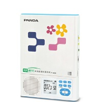 熊猫 F-385CD机随身听插卡充电锂电池MP3复读机便携播放器 CD复读机