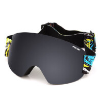 滑雪镜防雾 球面大视野滑雪眼镜 单双板男女登山雪镜