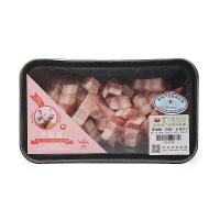 【春播】幸福猪(白猪)五花肉丁300g