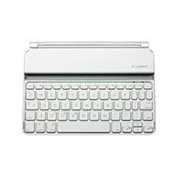 Logitech/罗技 IK700 iPad mini超薄键盘无线蓝牙键盘盖 白色 全国联保 全新盒装正品
