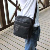 【支持礼品卡支付】单肩包斜挎包ipad包男士时尚小包韩版休闲包竖款男包帆布包