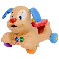 [当当自营]Fisher Price 费雪 多功能小狗皮皮踏行车 双语 婴儿玩具 BCT93