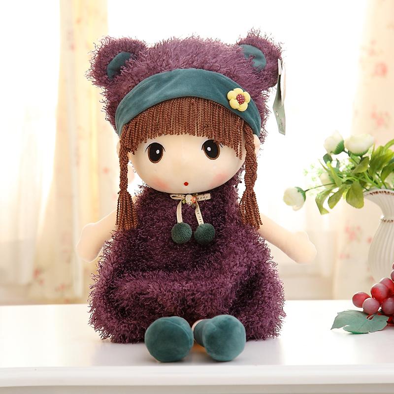 可爱菲儿公仔毛绒玩具布娃娃洋娃娃玩偶人物公仔女孩布偶生日礼物
