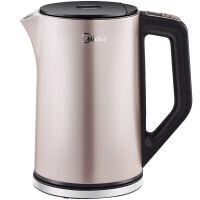 【当当自营】 Midea美的电水壶HE1506b 不锈钢电热水壶 烧水壶