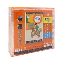 2015新版 人教版pep英语 六年级英语下册 5VCD光盘同步教材 正版