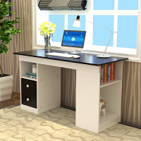 亿家达 简约电脑桌台式桌家用办公桌写字桌书桌 时尚台式家用电脑桌组合