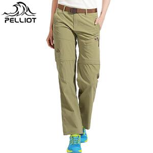 【折上再减】法国PELLIOT/伯希和 速干裤女 两截户外透气可拆卸修身快干裤