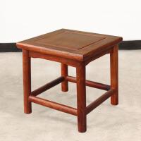 包邮简迪红木家具中式小椅子实木小板凳花梨木简约家用木头凳子成人小方凳