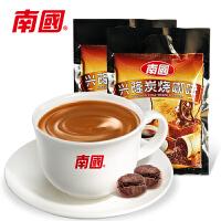 海南特产南国食品兴隆炭烧咖啡320gX2袋速溶咖啡粉独立小包原味