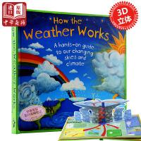 现货 英文原版How the Weather Works天气是如何运作的 儿童读物