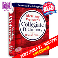 韦氏大学英语词典 韦氏词典 韦氏英文词典 英文原版 Merriam-Webster's Collegiate Dictionary