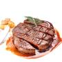 【恒都】恒都牛肉 儿童牛排团购10份装1300g 套餐里脊肉赠油酱