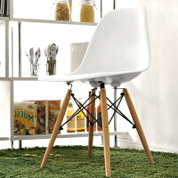 择木宜居 实木餐椅靠背餐厅椅电脑椅子 吧台椅酒吧椅