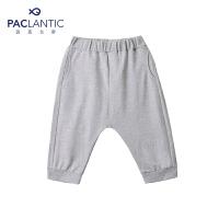 派克兰帝品牌童装  夏装男童针织哈伦七分裤 男童时尚哈伦短裤