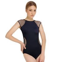 弈姿EZI新款氯丁橡胶女式连体 小胸显瘦性感三角连体女游泳衣1399