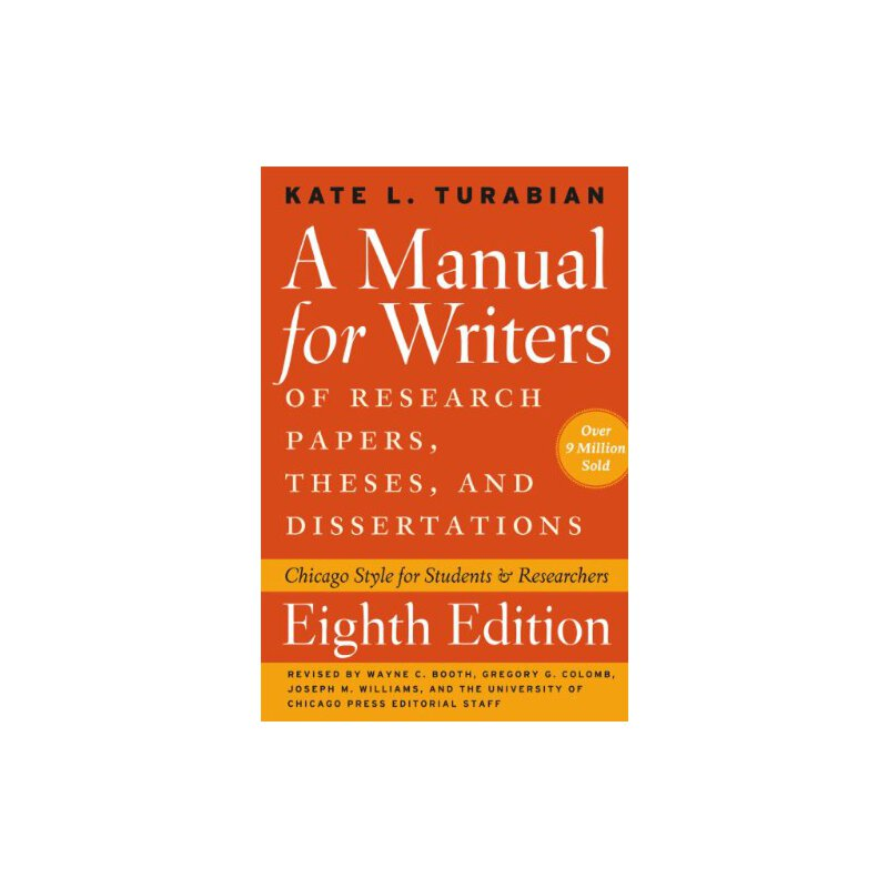 manual for writers of term papers theses