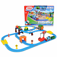 托马斯小火车头电动轨道车套装CGW29多多岛百变男孩儿童玩具
