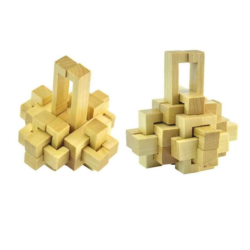 4九连环智力玩具成人益智华容道套装解扣解环学生