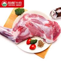 恒都 内蒙古草原羊 带骨羊前腿1200g鲜嫩羔羊肉