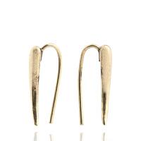 Arts & Crafts/A&C signature系列金色优雅复古叶形女士耳钉 支持礼品卡支付