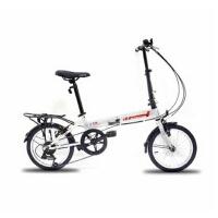 德国欧狼自由人1.0折叠自行车儿童车高档自行车14寸7S儿童折叠自行车折叠车变速车学生男女