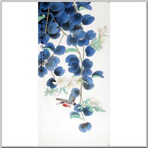 中国国画家协会会员 于宗辰《借水生花天姿高洁》