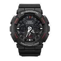 卡西欧(Casio)手表G-SHOCK系列多功能双显户外运动防水男士手表GA-120-1A/GA-120A-7A