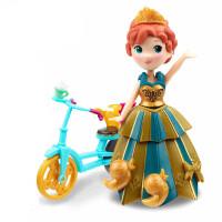 孩之宝冰雪奇缘迷你系列安娜人偶娃娃