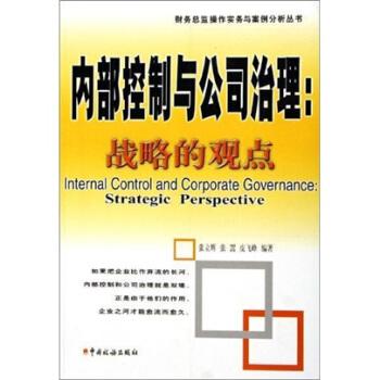 内部控制与公司治理--战略的观点/财务总监操作实务与案例分析丛书