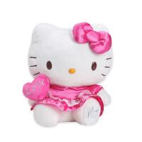 Hello Kitty凯蒂猫毛绒公仔玩偶love表白女孩娃娃节日礼物