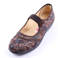 欣清2016夏季老北京布鞋妈妈鞋女鞋 带攀养生布鞋送妈妈送亲朋