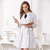 【女装盛典 2件5折】OSA欧莎2017春装新款 优雅系带纯色西装领中长风衣外套女A23006