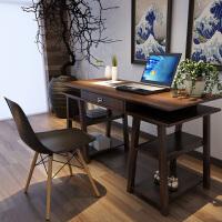 择木宜居 简约现代台式电脑桌 家用书桌办公桌 组合书桌