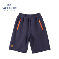 派克兰帝品牌童装 夏装男童针织牛仔五分裤 男童休闲牛仔短裤