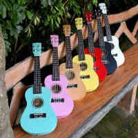 21/23/26寸正品彩色尤克里里ukulele乌克丽丽夏威夷四弦琴小吉他