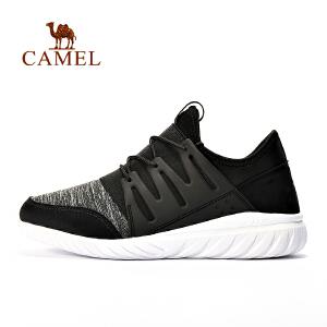 camel骆驼户外男款日常跑鞋 透气轻便舒适跑步鞋男