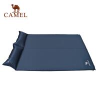 camel骆驼户外露营防潮垫 双人带枕自动充气垫