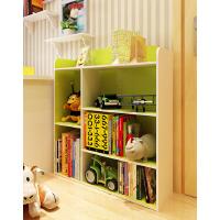 慧乐家儿童绿色书架书柜 杂志架 学生书柜组合书架 储物柜子 绘本架