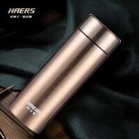 哈尔斯不锈钢真空保温杯450ml 随手杯 HW-450-11