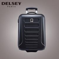 【可礼品卡支付】Delsey 法国大使拉杆箱 2017新款旅行箱 男女硬箱行李箱 纤巧