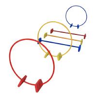 大贸商 幼儿园玩具感统训练器材塑料跨栏钻圈体育游戏户外用品 AF01459