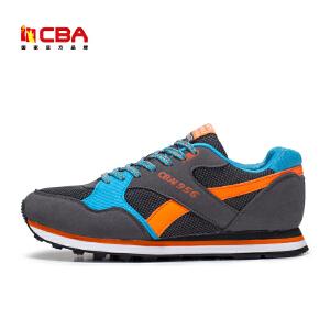 CBA男鞋 运动鞋男款复古跑步鞋透气减震耐磨跑鞋休闲鞋