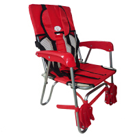 三鼎折叠式儿童安全自行车座椅宝宝电动车座椅婴儿座椅后置座椅