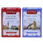 [当当自营]  斯里兰卡进口 英伯伦 IMPRA英式早茶500g+格雷伯爵调味茶500g