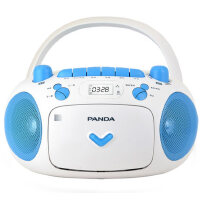 熊猫 CD-203复读机磁带MP3录音U盘TF卡收音磁带转录英语播放机器 胎教机