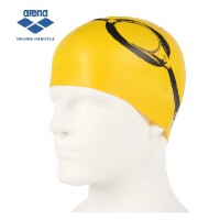 arena 阿瑞娜 2015亮色硅胶泳帽 防水耐用护耳游泳帽男女通用