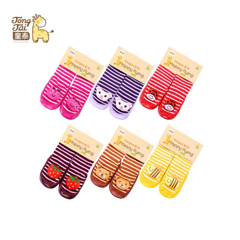 童泰新款宝宝家居地板袜男女宝宝带底袜子专注婴幼服饰30年 千万妈妈信赖之选!